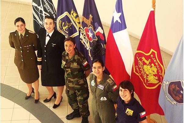 Mujeres en las Fuerzas Armadas