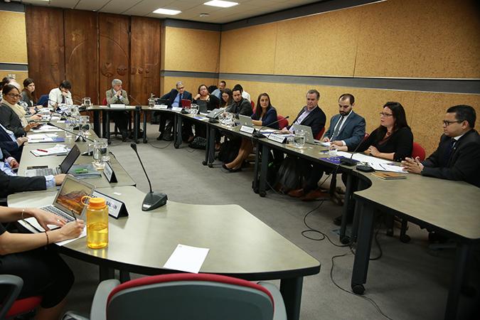 Reunion de negociadores de agricultura en Cepal
