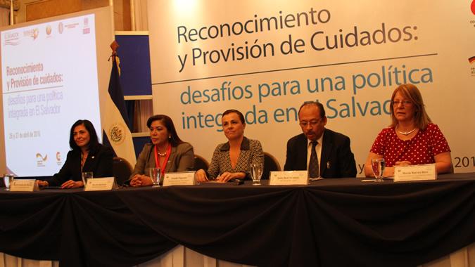 El evento tuvo lugar en San Salvador, El Salvador.