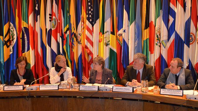 Visita delegación Noruega