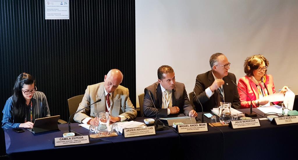 Panel de expertos analizan estrategias integradas de desarrollo territorial