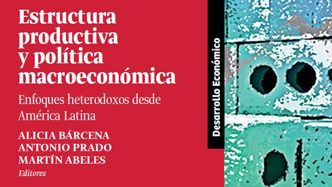 Portada del libro Estructura productiva y política macroeconómica.