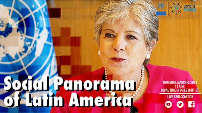 Banner Social Panorama of Latin America 2020