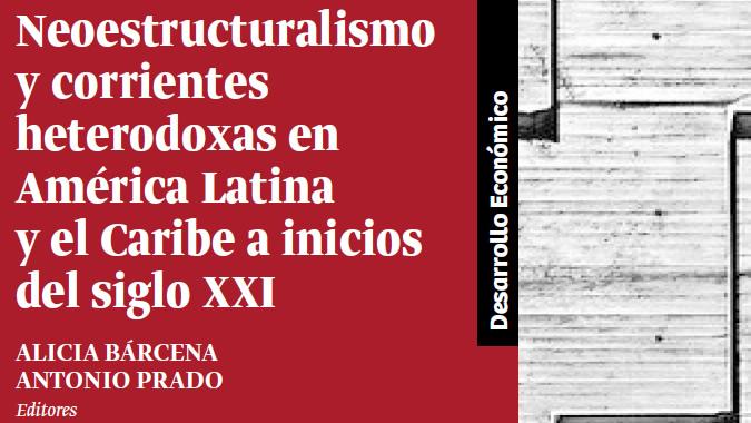 Portada de libro de la CEPAL sobre neoestructuralismo.