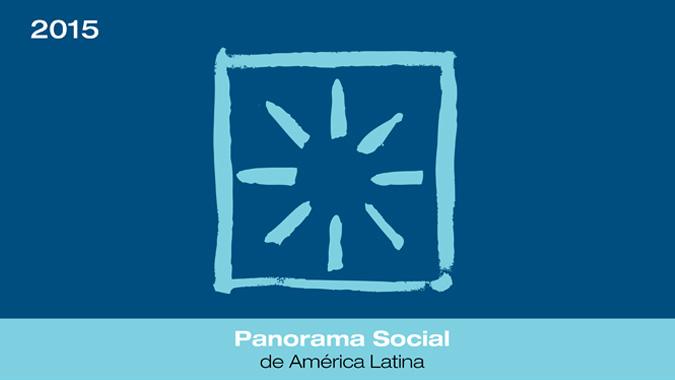 Portada del informe Panorama Social 2015.