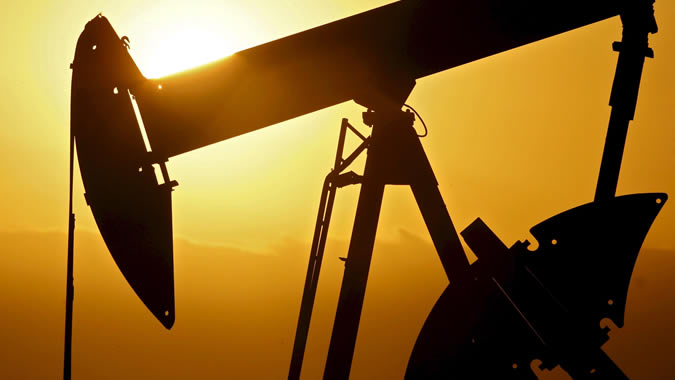 Foto de un pozo petrolero