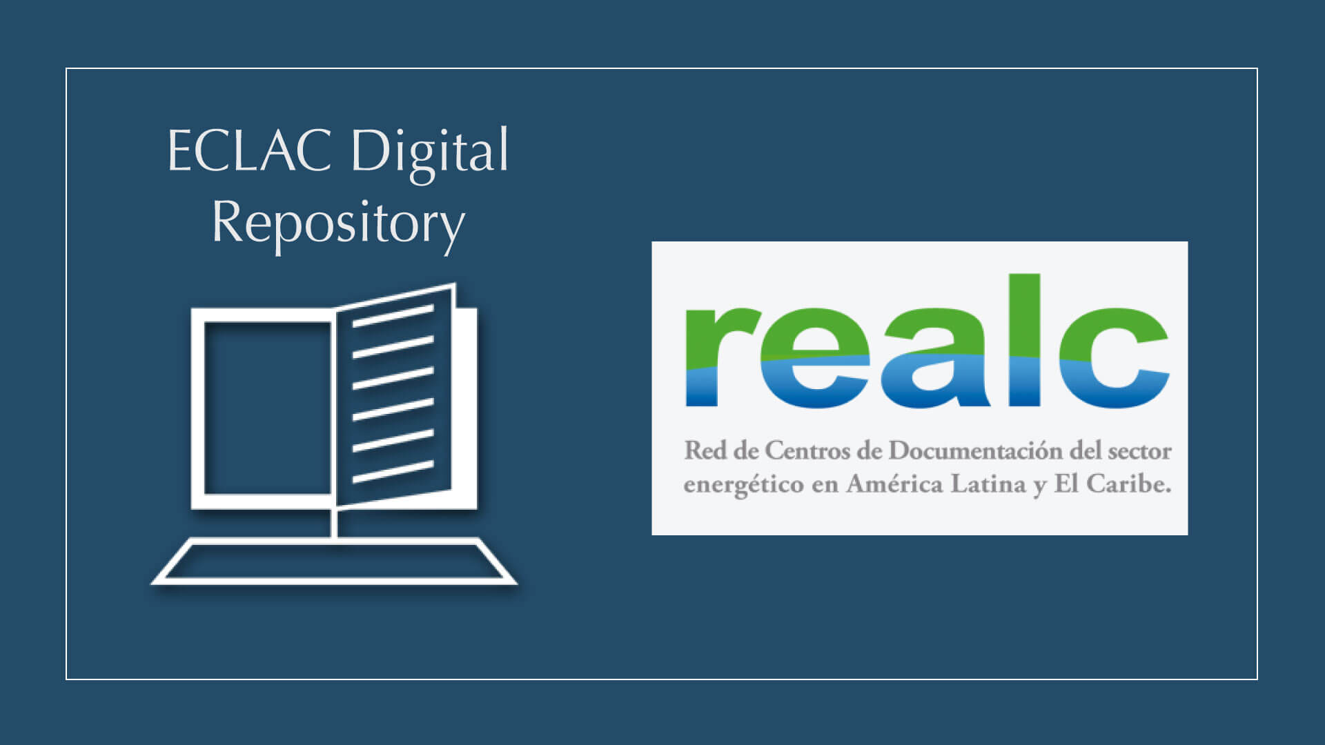 ECLAC Repository in REALC/OLADE Virtual Library