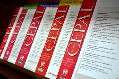 portadas de Revista CEPAL