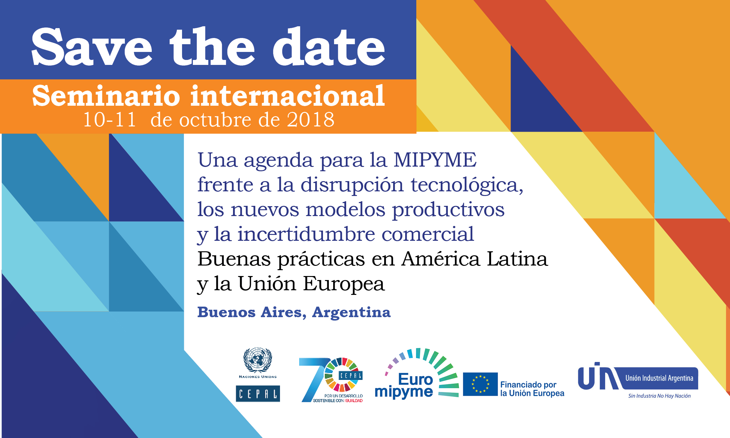 Save the date seminario MIPYME