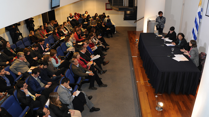 Image of the seminar on social protection carried out in preparation for the Regional Conference on Social Development.