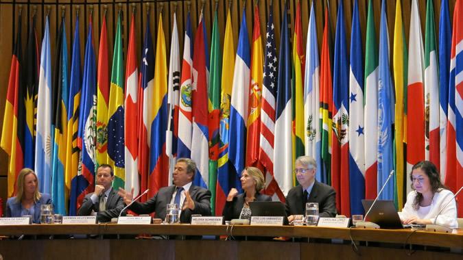 Seminario sobre Finanzas Sostenibles en la CEPAL