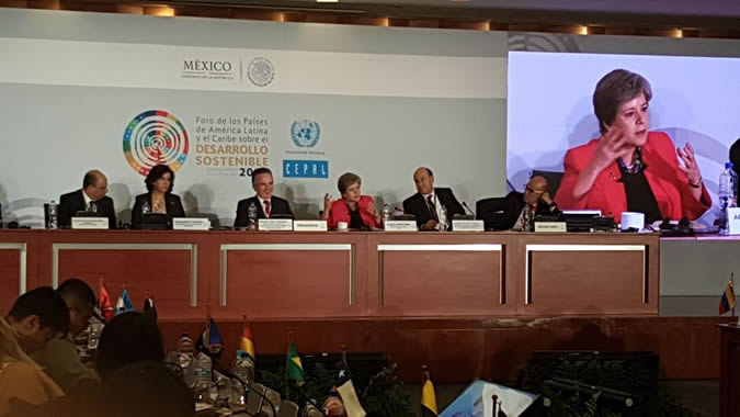 The special session on artificial intelligence took place during the first meeting of the Forum of the Countries of Latin America and the Caribbean on Sustainable Development.