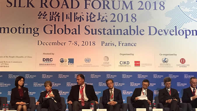 Silk Road Forum realizado en París.