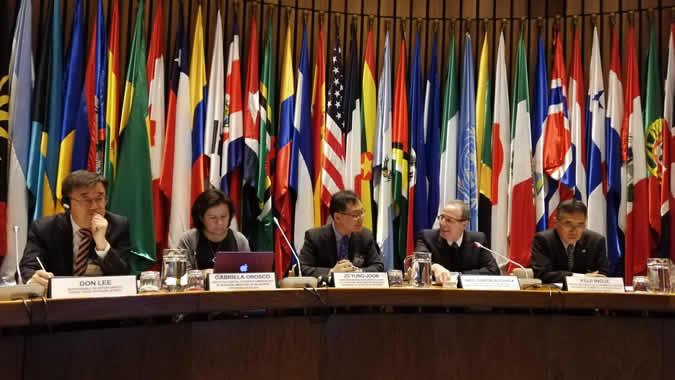 Inauguración del III Taller de Capacitación para la Internacionalización de las PYMES en América Latina y el Caribe