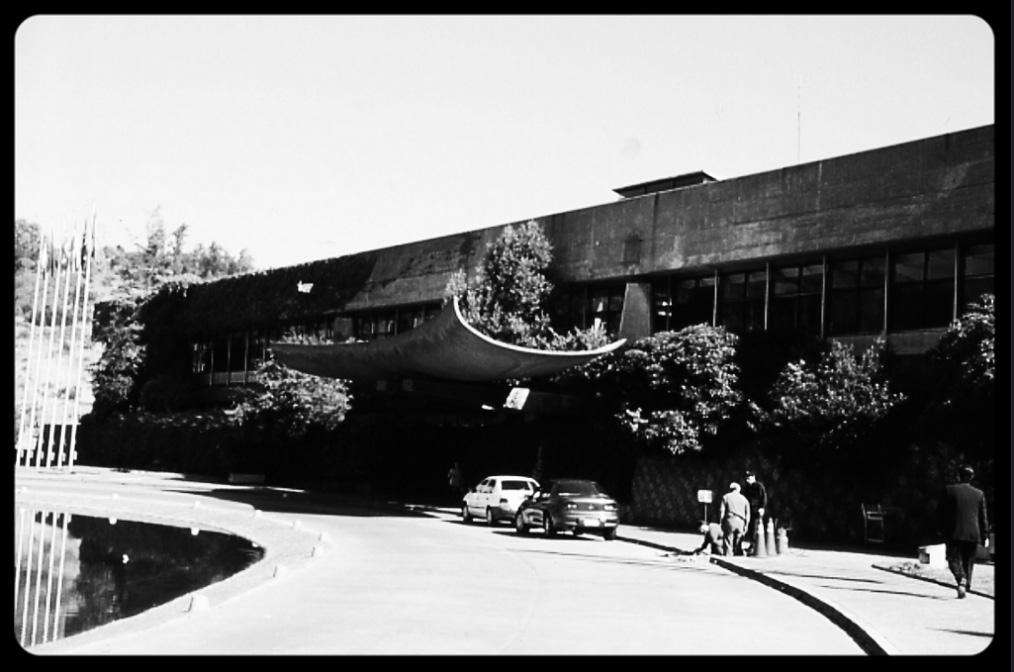 Foto Edificio sede de la CEPAL