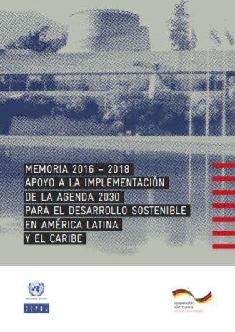 Portada Memoria 2016-2018 Apoyo a la Implementacion