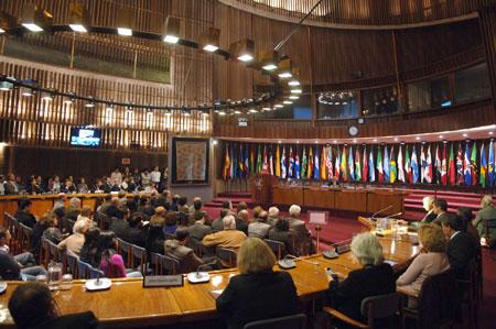 La Novena Cátedra Raúl Prebisch se realizó en la sede de la CEPAL en Santiago, Chile.
