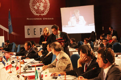 Los delegados de los países que asistieron al Período de Sesione acogieron el enfoque integral de desarrollo centrado en la igualdad propuesto por la CEPAL.