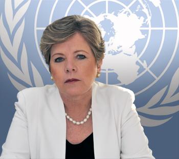 """""""Igualdad social y dinamismo económico no deben estar reñidos """", dijo hoy en Madrid Alicia Bárcena, Secretaria Ejecutiva de la Comisión Económica para América Latina y el Caribe (CEPAL)."""