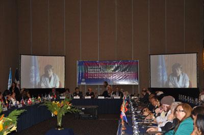 Delegados de 28 países de América Latina y el Caribe y representantes de organismos internacionales asisten a la Sexta reunión de la Conferencia Estadística de las Américas de la CEPAL (CEA-CEPAL).