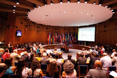 La presentación del informe se realizó en la sede de la CEPAL en Santiago, Chile.