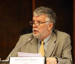 Antonio Prado, Secretario Ejecutivo Adjunto de la CEPAL, inauguró el seminario Raúl Prebisch y los desafíos del siglo XXI.