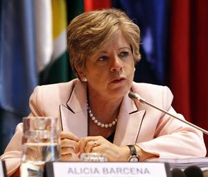 Alicia Bárcena, Secretaria Ejecutiva de la CEPAL, participó en la clausura de la II Reunión de Mecanismos y Organismos Regionales y Subregionales de Integración.