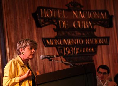 La Secretaria Ejecutiva de la CEPAL, Alicia Bárcena, inauguró seminario sobre planificación para el desarrollo en América Latina y el Caribe.