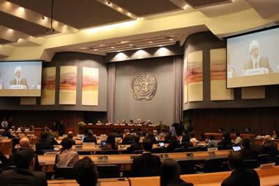 A la 69° Sesión de la Comisión Económica y Social de las Naciones Unidas para Asia y el Pacífico (CESPAP) en Bangkok asistieron más de 300 participantes de 45 países.