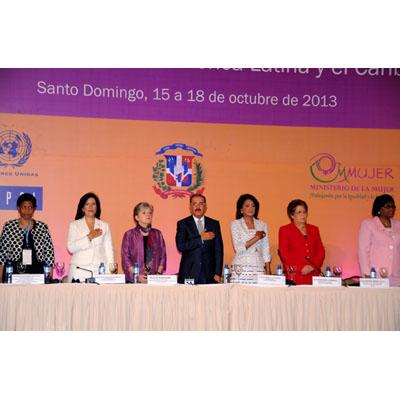 La XII Conferencia Regional sobre la Mujer de América Latina y el Caribe finaliza el viernes en la capital dominicana.