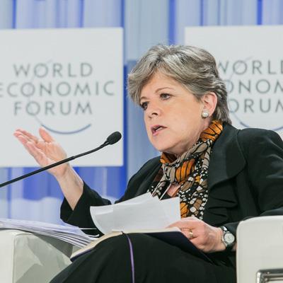 La Secretaria Ejecutiva de la Comisión Económica para América Latina y el Caribe (CEPAL), Alicia Bárcena, intervino este martes en una sesión plenaria titulada Perspectivas regionales sobre las tendencias globales, en el marco de la segunda Reunión Global de Organizaciones Regionales.