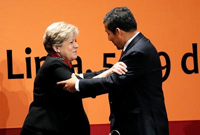 El Presidente de Perú y la Secretaria Ejecutiva de la CEPAL inauguraron el Trigésimo quinto período de sesiones del organismo de las Naciones Unidas.
