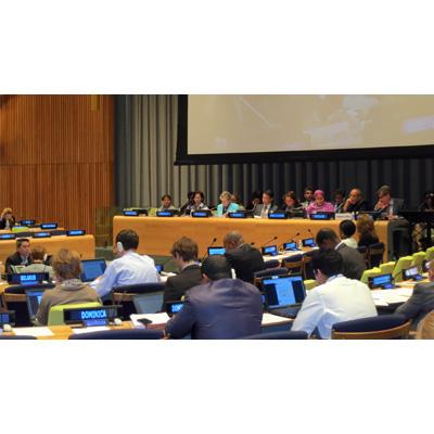 La Secretaria Ejecutiva de la CEPAL, Alicia Bárcena, participó en un diálogo en el marco del Foro Político de Alto Nivel sobre Desarrollo Sostenible.
