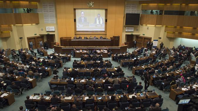 Vista general de la Tercera Conferencia Internacional sobre Financiamiento para el Desarrollo.