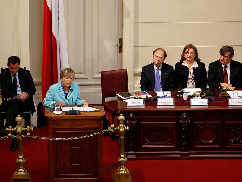 Alicia Bárcena, Secretaria Ejecutiva de la CEPAL, habló sobre el fortalecimiento de la relación entre América Latina y la Unión Europea en la Asamblea Parlamentaria EuroLat.