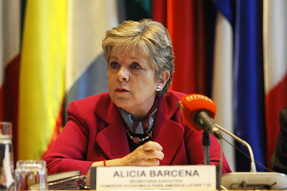 ECLAC Executive Secretary, Alicia Bárcena