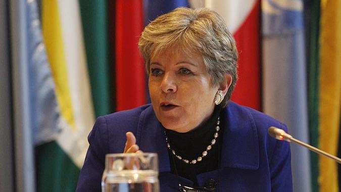 Alicia Bárcena, Secretária Executiva da CEPAL