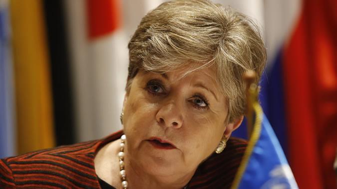 Alicia Bárcena, ECLAC Executive Secretary