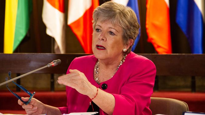 Alicia Bárcena, Executive Secretary of ECLAC