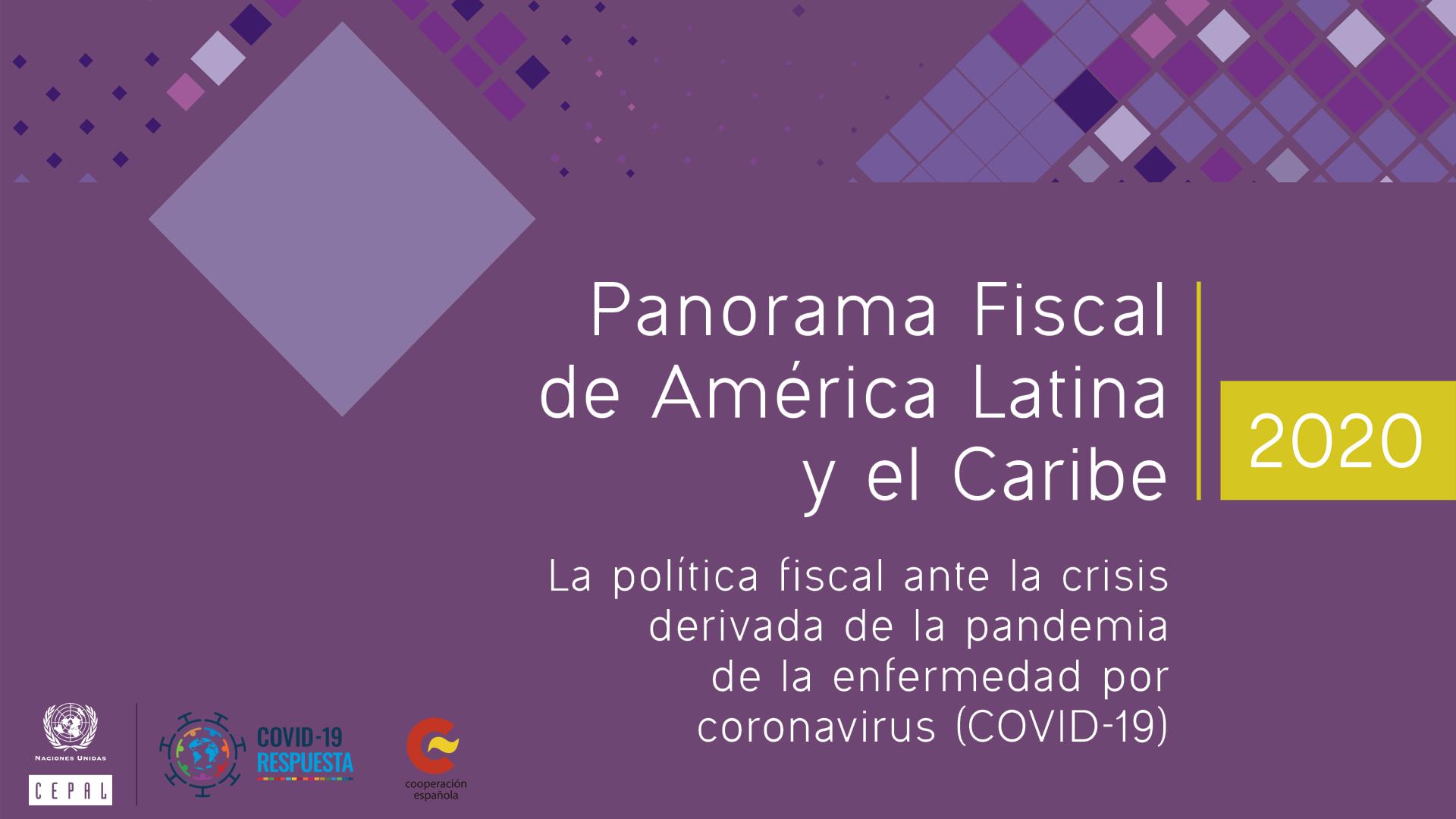 Banner Panorama Fiscal de América Latina y el Caribe 2020