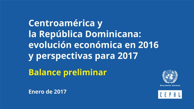 Portada Balance Preliminar Centroamérica