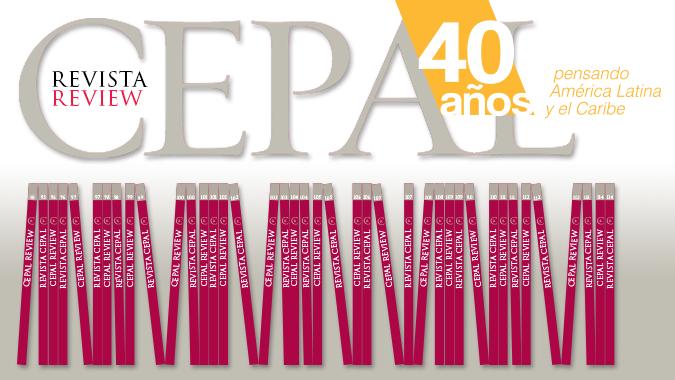 Banner 40 años Revista CEPAL