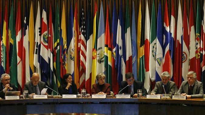 Imagen de la inauguración de la tercera reunión de la Mesa Directiva de la Conferencia Regional sobre Población y Desarrollo.