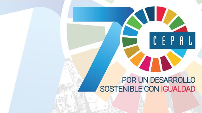 Banner 70 años de la CEPAL.