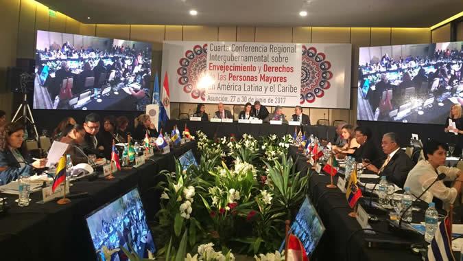 Imagen cuarta Conferencia regional intergubernamental sobre envejecimiento y derechos de las personas mayores