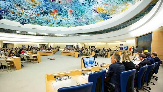 Consejo de Derechos Humanos, Ginebra.