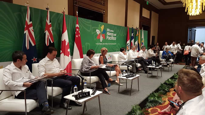 Foto Cumbre Alianza del Pacífico 2018