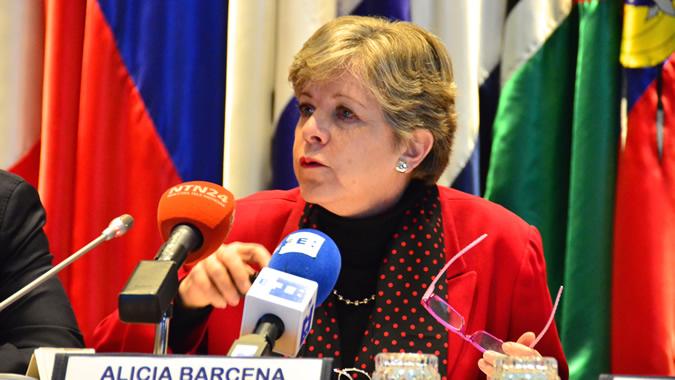 Foto de Alicia Bárcena, Secretaria Ejecutiva de la CEPAL