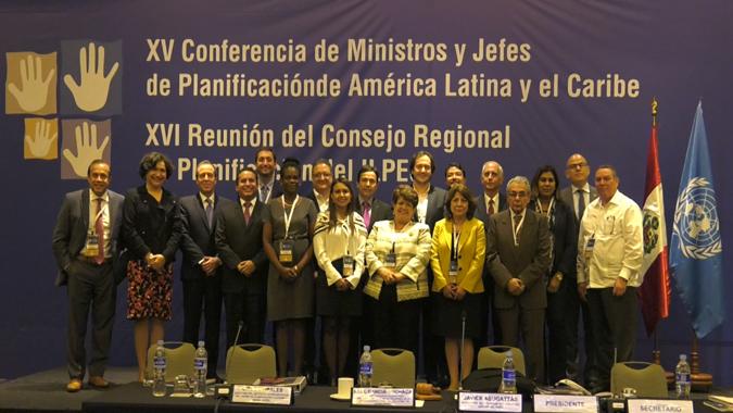 XVI Reunión del Consejo Regional de Planificación.