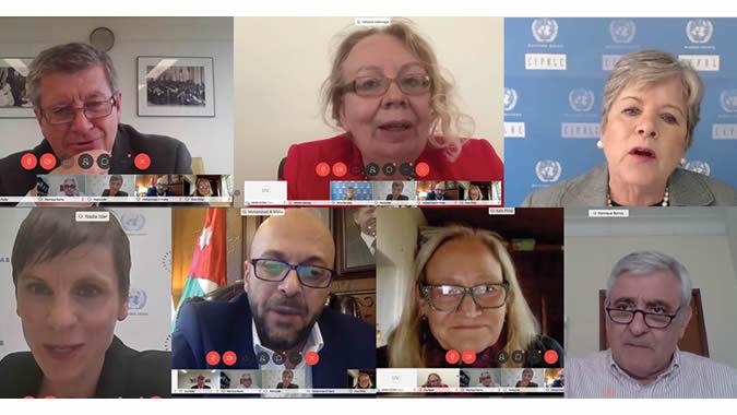 Foto grupal reunión SDG Lab